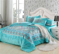 100% Long staple Egyptian cotton bedding sets Butterfly