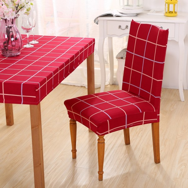 Online Cheap Red Chair Covers