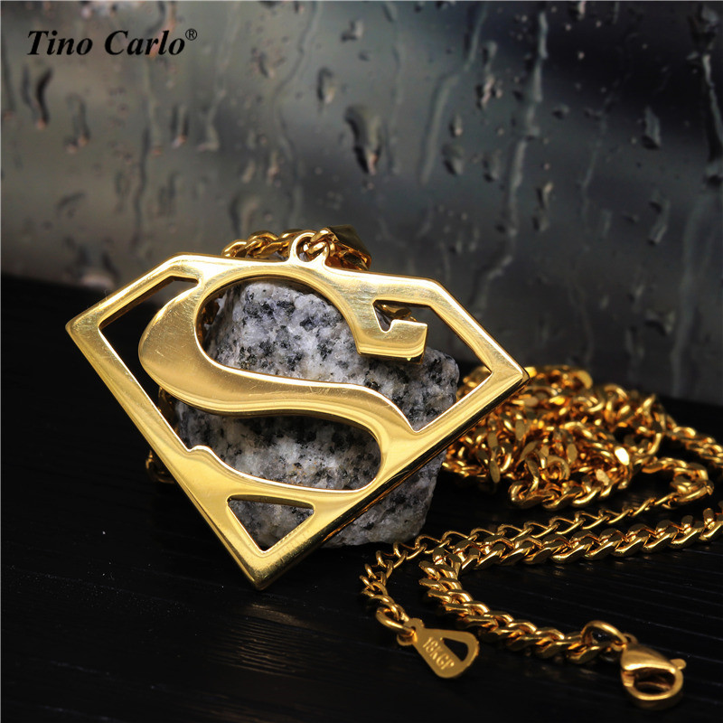 Superman Symbol Pendant Charm