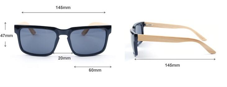 BerWer de 2018 Novos Óculos De Sol De Bambu De Madeira de Madeira óculos de  sol Das Mulheres Dos Homens Do Vintage Retro Verão Óculos de 8 cores óculos 8631065db5