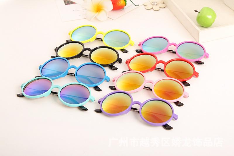 95a227fd16 Multicolor Moda 2015 mercurio espejo de metal gafas de sol chicos niños  niñas recubrimiento sunglass oro ronda ocul 10 unids/loteUSD 62.80/lot ...
