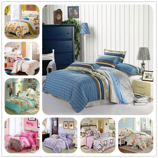 Home Textile Cheap Comfortable Bedspread Soft Beautiful Bed Cover Set Twin Queen King Size