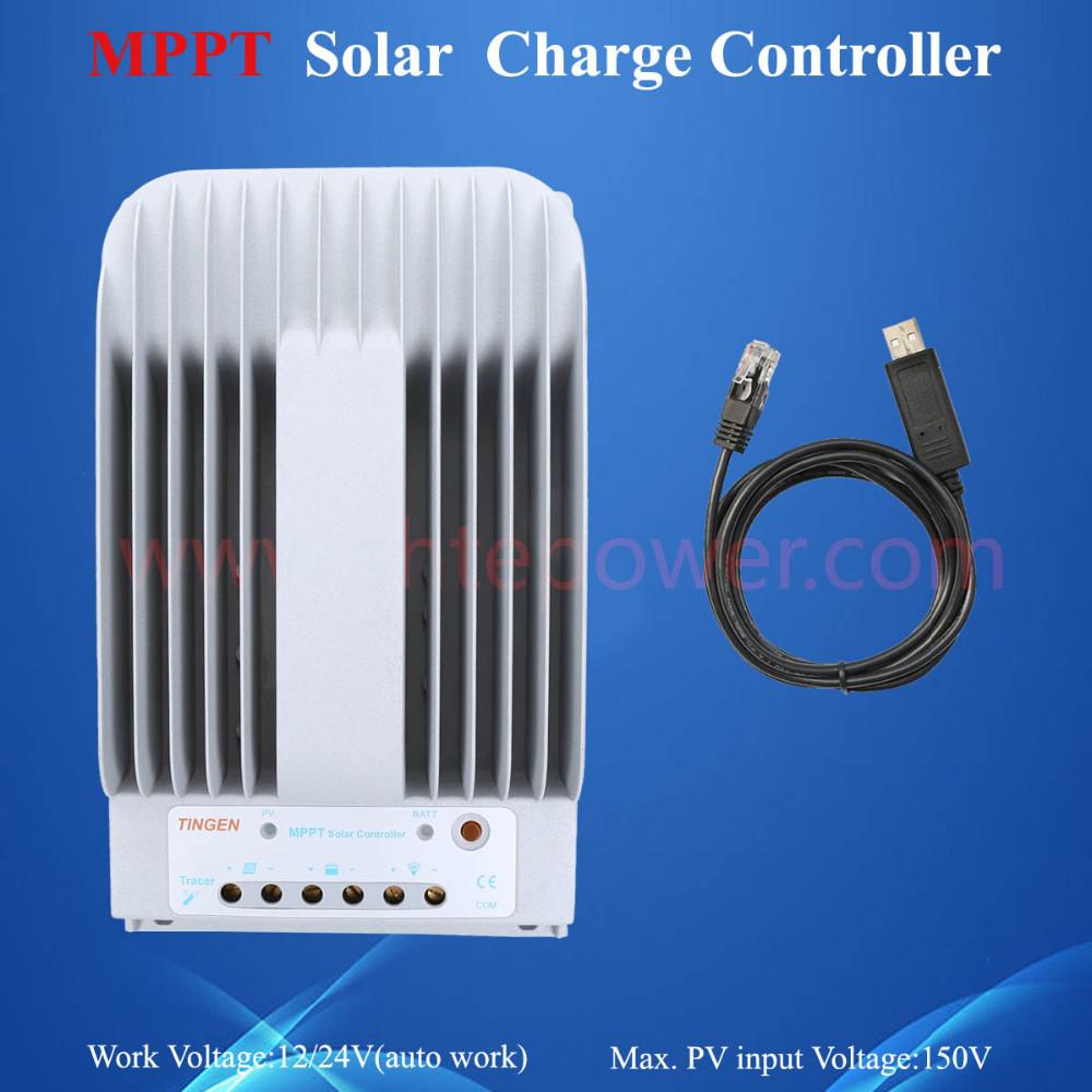 12 V 24 V 40a controlador de carga del panel solar 9ca1db2cb4f