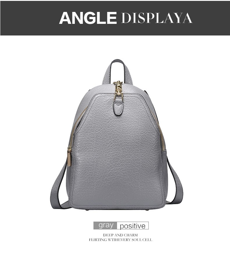 1098c7a0a1 WILIAMGANU marka Kobiet plecak szkolny Prawdziwej skóry na co dzień panie  torba na ramię plecaki turystyczne dla nastoletnich dziewcząt 0752