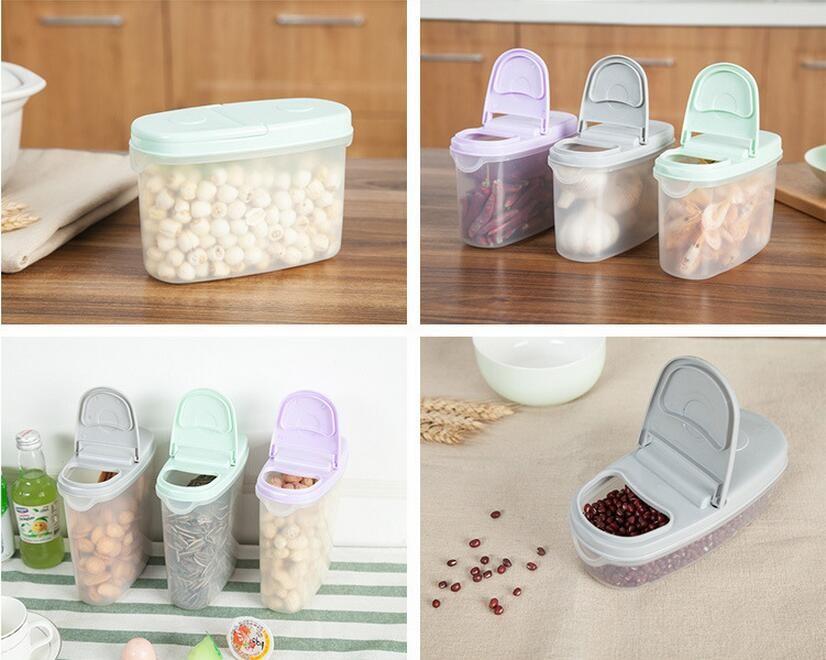 Seal Insurance Tank Storage Plastic Crisper Grains Food Storage