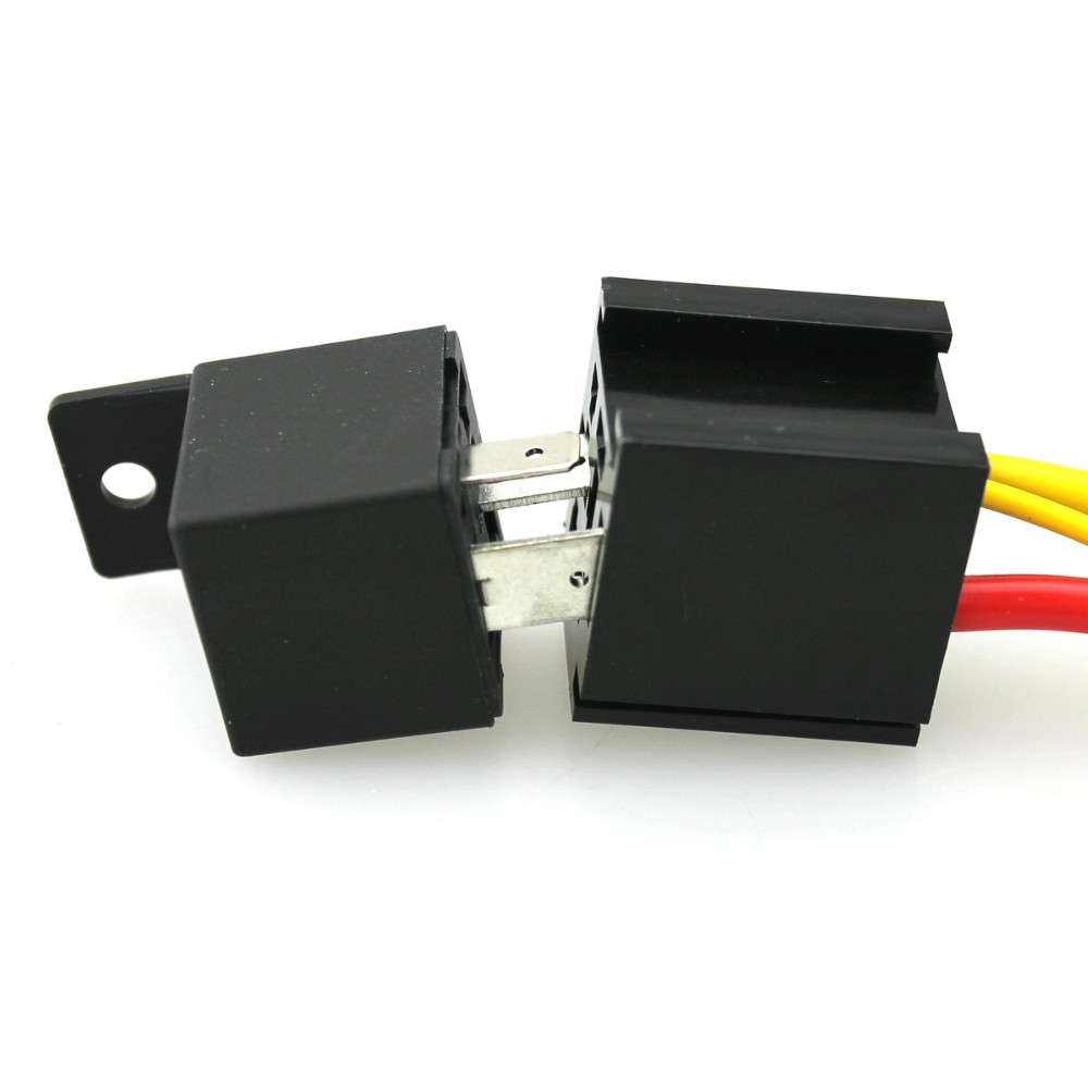 4 Pin Car Auto 12v 40 A Relay Relays With Bosch Style S Automotive Wiring Harness Styles Socket 5 Pack