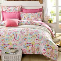 fashion girls bedding sets with Bohemian Pattern,1pc duvet
