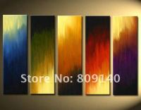 Abstract oil painting canvas artwork Quality handmade ...