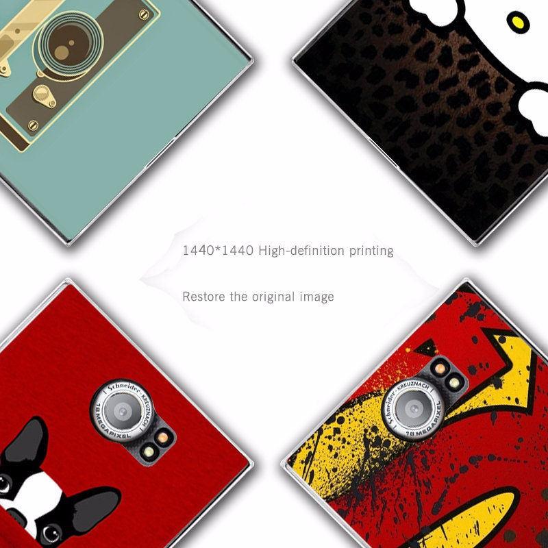 22 patrón de dibujos animados de plástico duro caso para BlackBerry ...