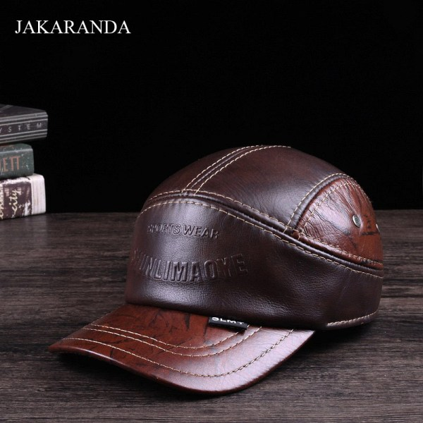 Popular Leather Flight Cheap Cap
