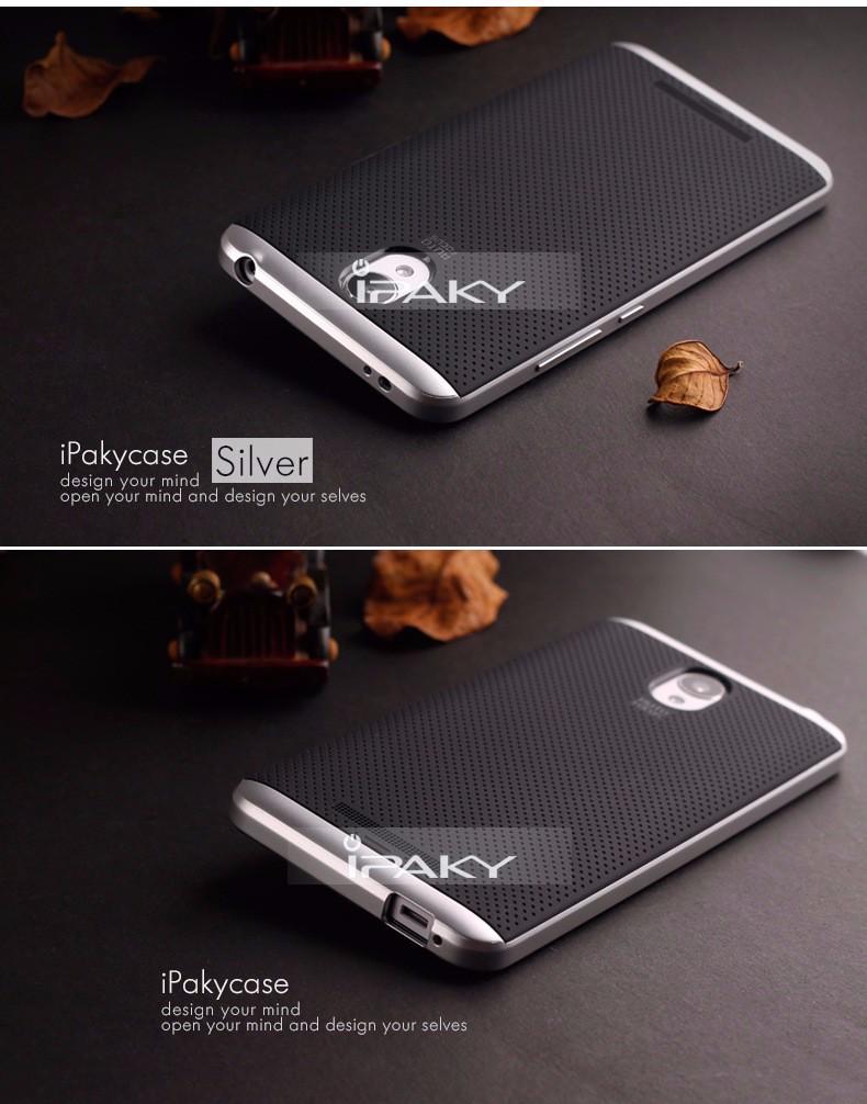 For Xiaomi Redmi Note 2 Case Original Ipaky Brand Silicone Pc 4 Hybrid Protective Cover Fundas