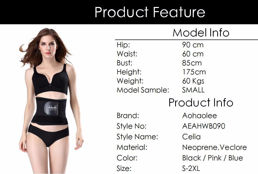 dd6fc5acc7 Aohaolee New Hot Shapers Waist Trainer Corsets Body Shapers ...