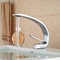 Unique-Design-Deck-Mount-Full-Brass-Bathroom-Basin-Faucet ...