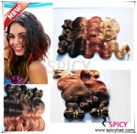 Brazilian Ombre Hair 3 Tones Combine With Color 1b/33#/27 ...