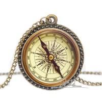 Aliexpress.com : Buy 4 Style Women Vintage Compass Pendant ...