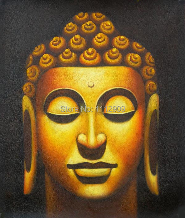 aliexpress com buy oil paintings canvas colorful buddha