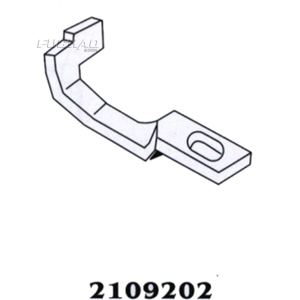 ᗛsteel 2109328 upper looer with fork bending of needle