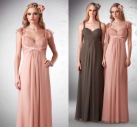 Elegant Latest Design Pink Maternity Bridesmaid Dress