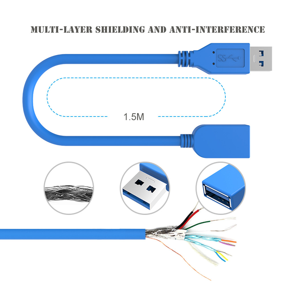 Galaxy Tablet To Usb Cable Wiring Diagram Electrical Diagrams Serial Port 0 5m 1m 1 3m 3 Extension Male Female Data