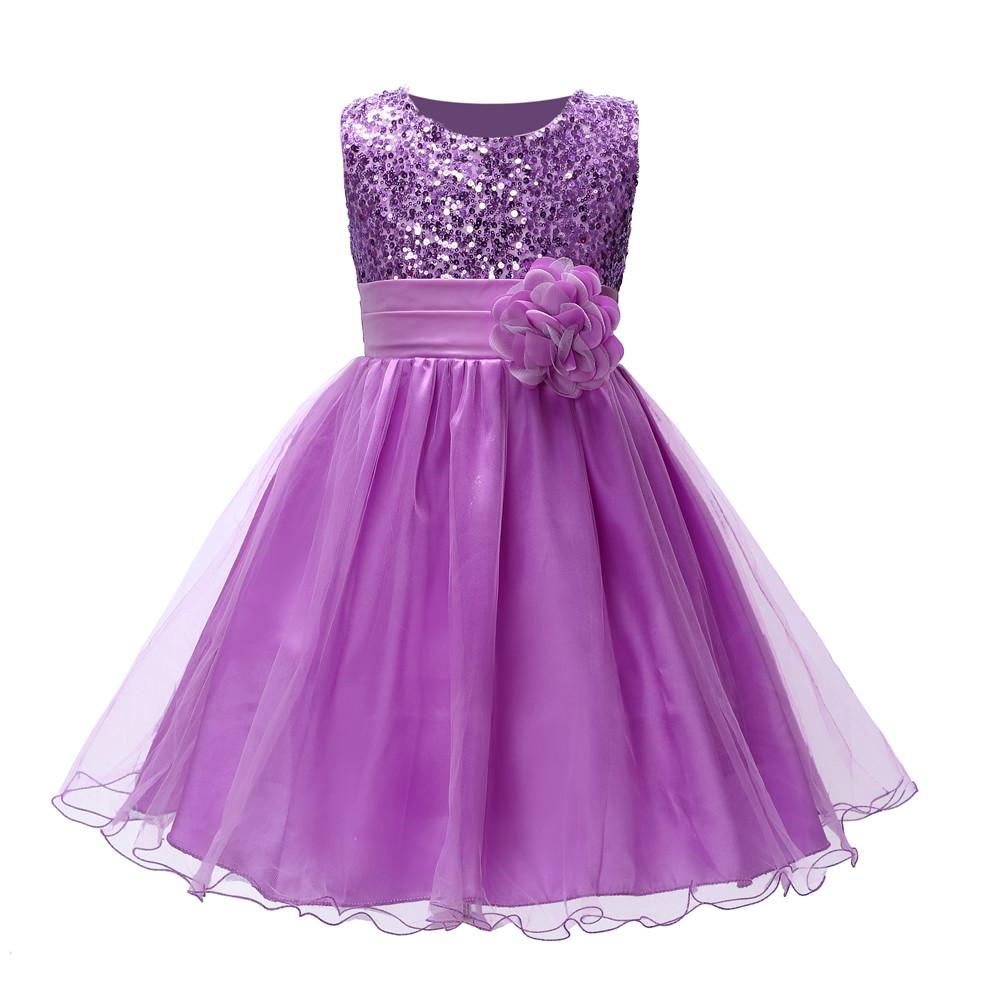 ᐅSQ220 10 color flor chica con una rosa boda de la fiesta de ...