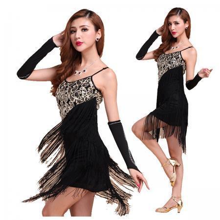 0943574a7fb1c New Fashion Professional Bodycon Celebrity Dresses Latin Dance Dress Salsa  Tango Ballroom Tassel Sequins Skirt 3 Colors. Click here to Enlarge