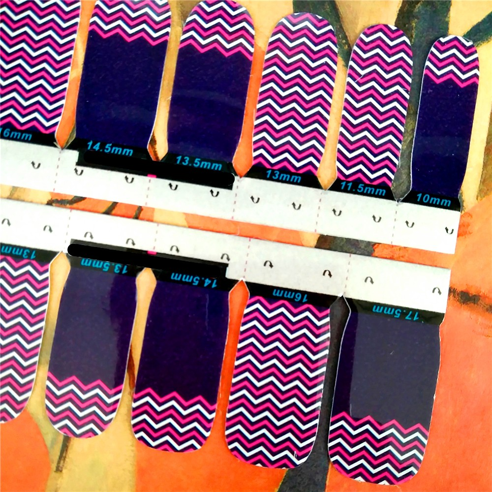 ✓Fundas adhesivas de moda para uñas de mujeres 97521b0bd69