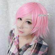 pastel pink short layered fashion