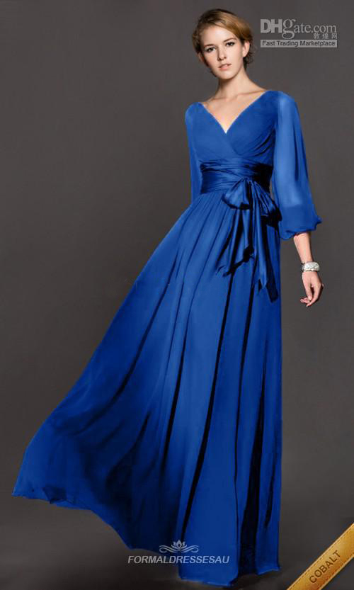 2014 autumn and winter formal dress long sleeve toadyisms