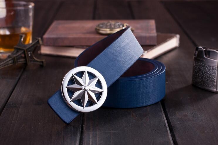d7a6ee1e43b 110 cm coréenne de lissage boucle de ceinture hommes ceinture en cuir  femmes ceintures