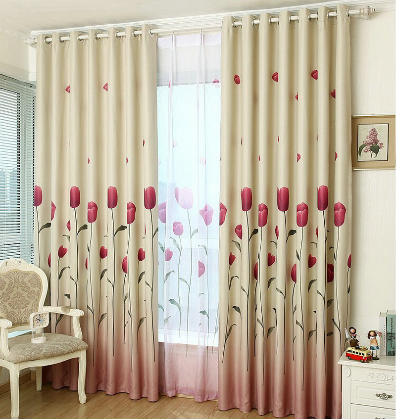 Rustic Window Curtains For Living Room Blackout Curtain