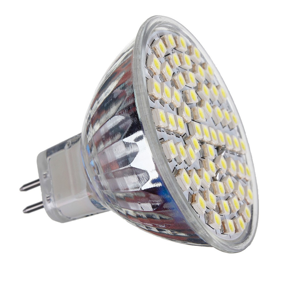 Mr16 Led Spotlight Bulb 4w Gu53 12v 300lm Smd 2835 Glass Cup Fluorescent Lamp Driver Applications Commercial Lighting Domestic Home Residential Indoor Parking Lot Supermarket Office Hotel