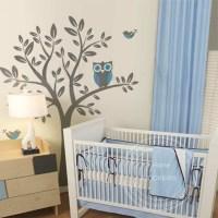 Buy Large Wall Stickers Landscape Tree Decals Nursery Kids ...