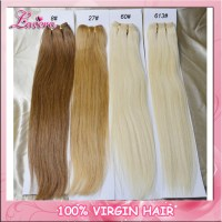 High quality brazilian human hair extension color 4 8 27