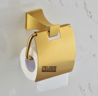 Aliexpress.com : Buy Free Shipping golden color toilet ...