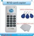 עדכון גרסה אנגלית של 10 תדרי RFID צילום תעודת זהות/IC הקורא /כותב להעתיק M1 13.56 MHZ Sector0 מוצפנים +30pcs 3kinds קטגוריה