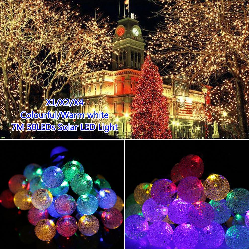 ღ ღTSLEEN livraison Gratuite LED Boule de Cristal Solaire