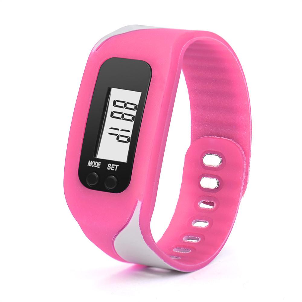 ⃝Durable digital LCD podómetro ejecutar paso caminar deporte reloj ...
