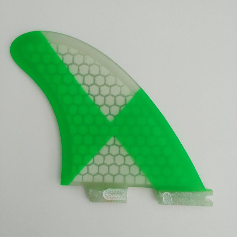 NºNueva FCS II aletas fcs2 k2.1 nido Fibra vidrio aleta verde rojo ...
