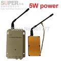 5W NEW 1 2G CCTV transmitter av transmitter 1 2G transceiver 1 2G Video Audio Transmitter