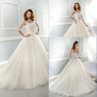 New Arrival Long White Country Western Wedding Dresses ...
