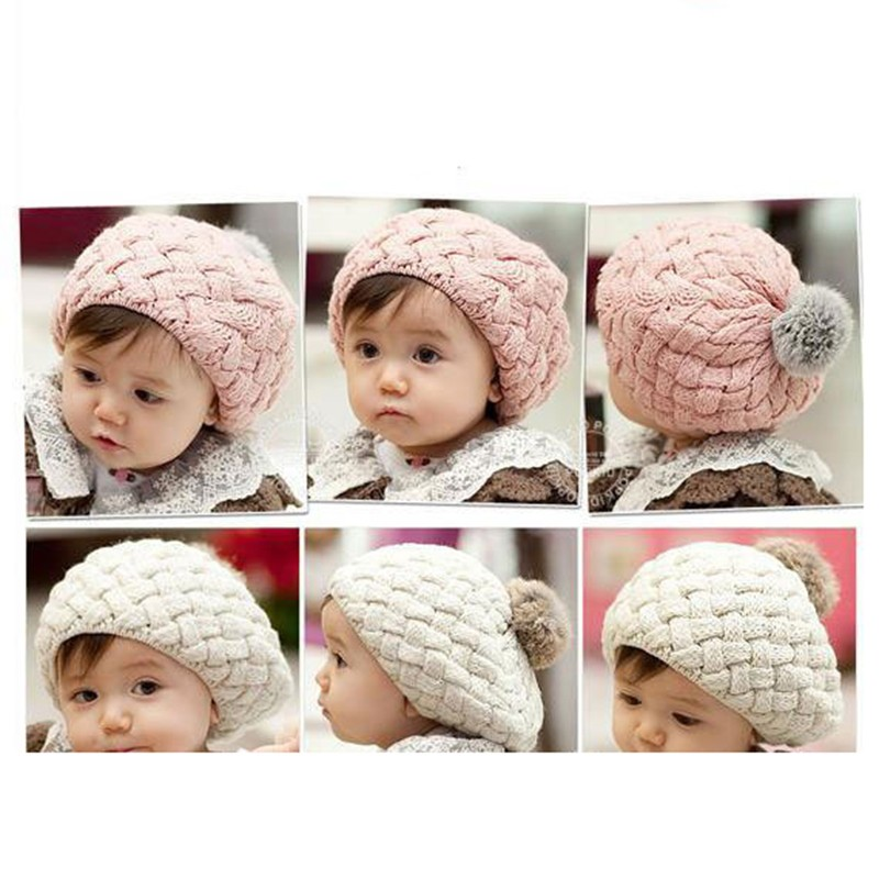 5a1648a2bc5 Cartoon Baby Bear Hat Crochet Earflap Beanies For Boy Girl Autumn Winter  Striped Kids Bonnet Pompom Hat Photography AccessoriesUSD 6.35 piece Knit  Warm ...