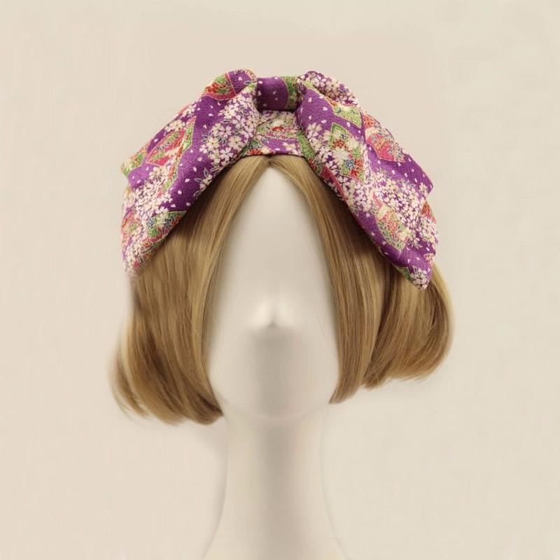 ⑧Vintage multi capa elástica Bandas para la cabeza estilo de ...