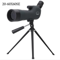 20 60X60 Zoom HD Adjustable Monocular Telescope Spotting Scope with Portable Tripod Telescopio for Birdwatching Hunting