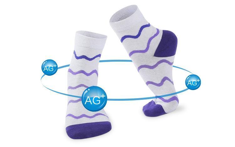 ₪Envío libre 10 unids = 5 par/lote de algodón Calcetines colores del ...