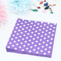 Online Buy Wholesale polka dot paper napkins from China