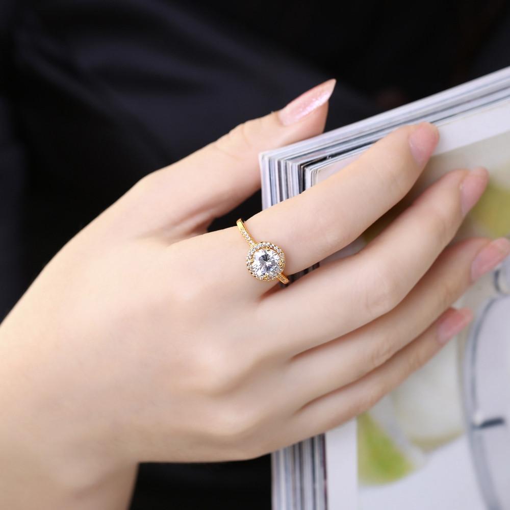 இ Charm High quality Gold Color plating Brand designer lady wedding ...