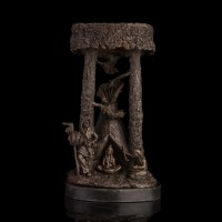 Classical Bronze statues Primitive African tribal life ...