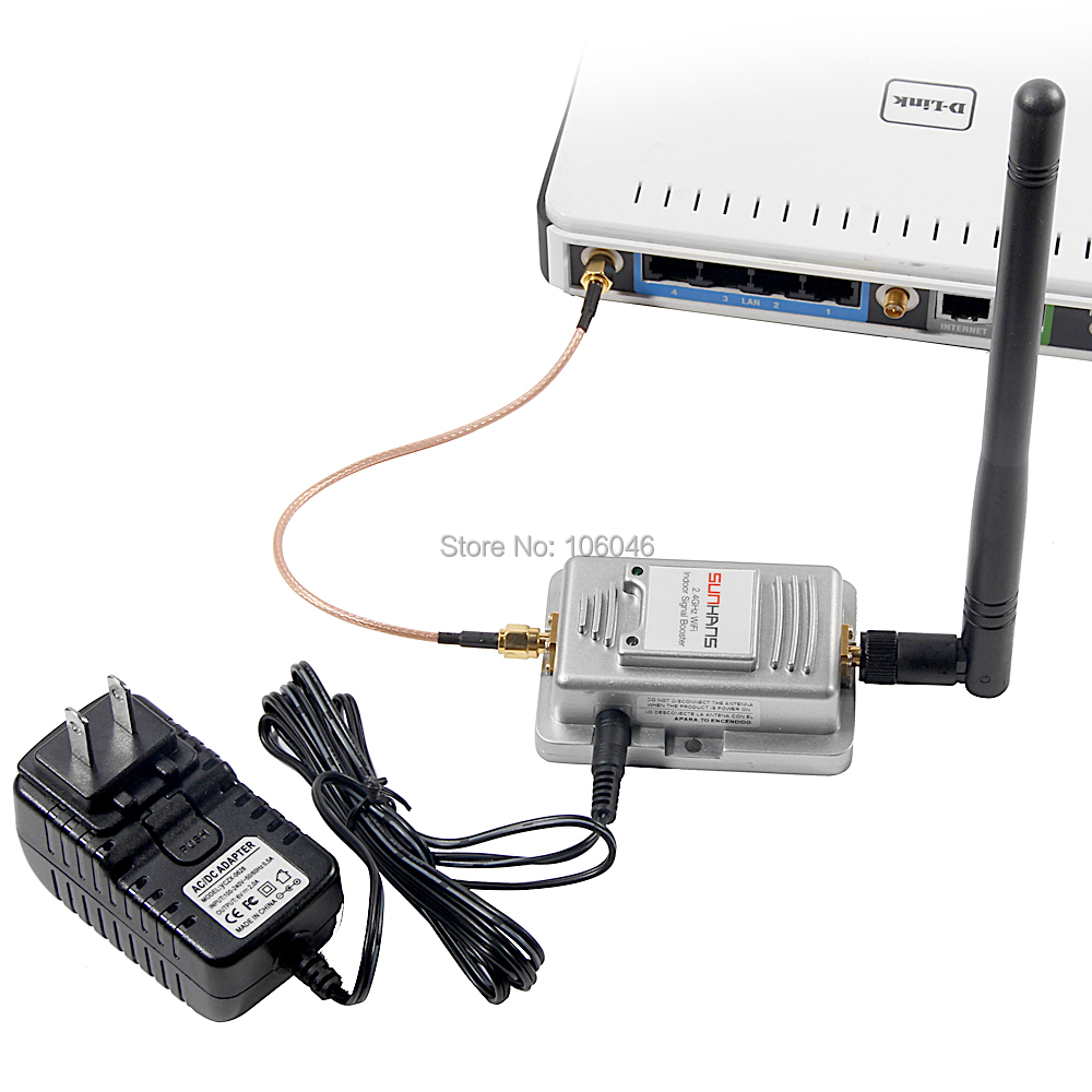 2W Wireless Wifi Web Signal Booster SH-2000 Broadband