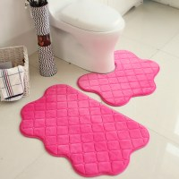 pink bathroom rugs and mats