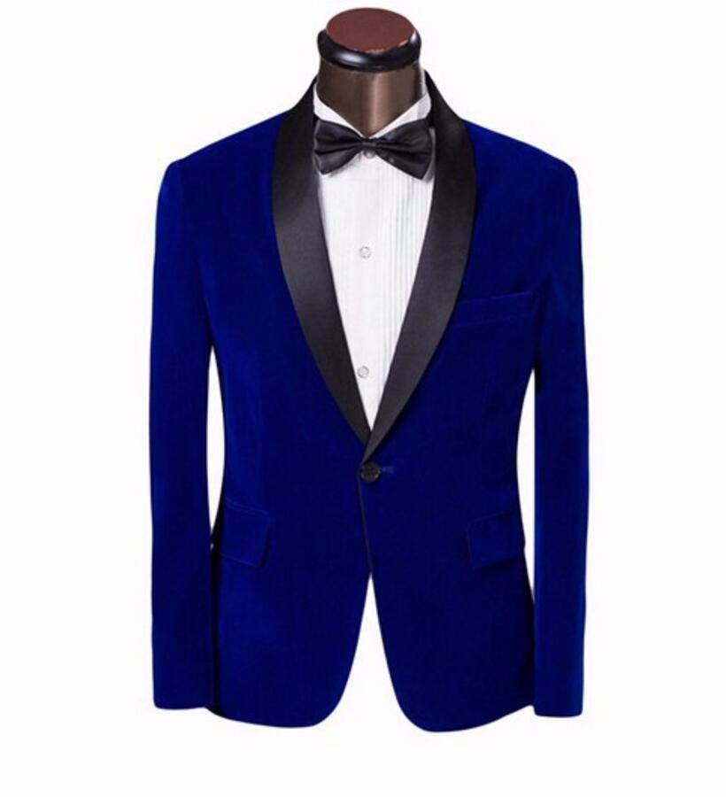 Homme Costume Veste Blazer Casual Loisirs Slim Fit Veste de Costume Smoking Mode Classique Paillette Costume Jacket Un Bouton Moderne Couleur Unie Smoking Costume